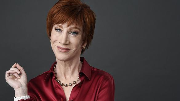 "In this March 22, 2018 photo, comedian Kathy Griffin poses for a portrait in Los Angeles to promote her upcoming ""The Laugh Your Head Off World Tour. (Photo by Chris Pizzello/Invision/AP) 20SummerComedyPicks"