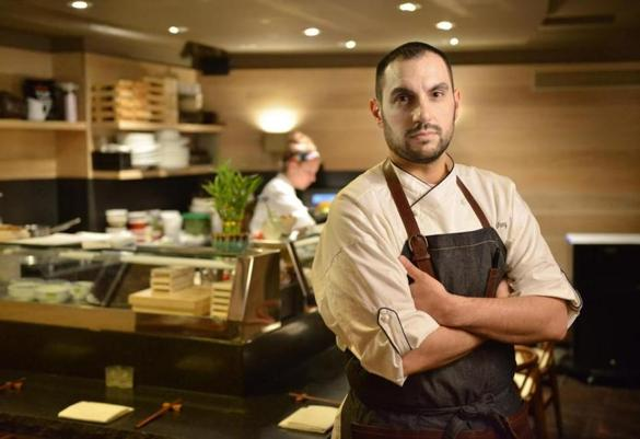 Chef Tony Messina at Uni bar in Boston is now James Beard award winner for Best Chef: Northeast.