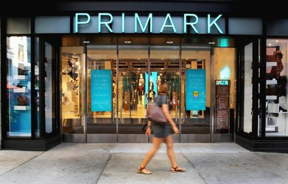 Primark's Downtown Crossing store (above) was its first in the US.