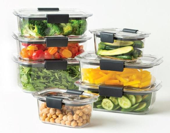 "Keeping a ""salad tower"" of ingredients on hand is one way to encourage healthy habits."