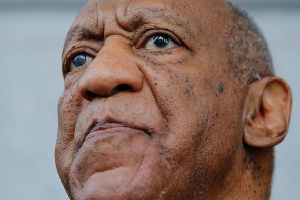 (FILES) In this file photo taken on June 17, 2017 Bill Cosby exits the courthouse after a mistrial on the sixth day of jury deliberations of his sexual assault trial at the Montgomery County Courthouse in Norristown, Pennsylvania. - US comedian Bill Cosby, who is serving a three and a half year jail sentence, on December 10, 2019 lost his appeal against his conviction for drugging and sexually assaulting a woman 15 years ago. Cosby had appealed to Pennsylvania's Superior Court, which issued a 94-page ruling upholding his conviction. He could now take his case to the state's Supreme Court. (Photo by EDUARDO MUNOZ ALVAREZ / AFP) (Photo by EDUARDO MUNOZ ALVAREZ/AFP via Getty Images)