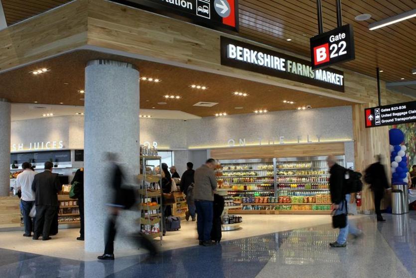 Boston logan airport food