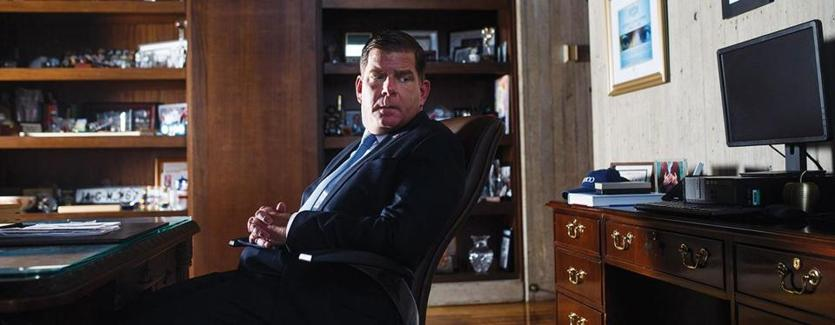 """I've turned being an alcoholic into being a workaholic,"" says Marty Walsh, who got sober more than 20 years ago."