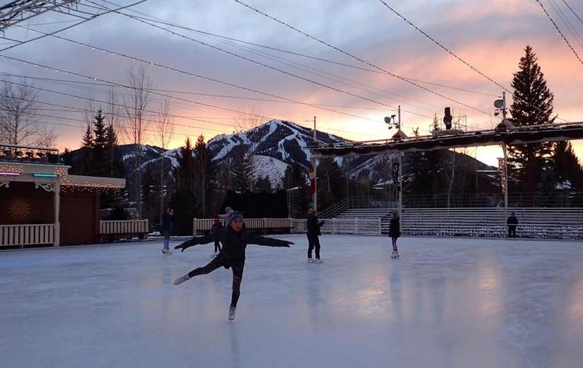 The Sun Valley Outdoor Ice Rink opened in 1937 and has drawn Olympic and world-class skaters ever since. The rink remains open year-round.