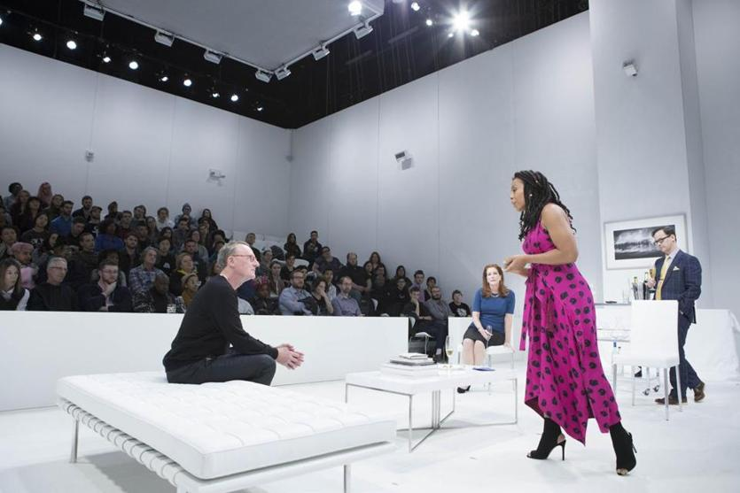 "Claudia Rankine's ""The White Card"" is at the Paramount Center's Robert J. Orchard Stage through April 1."