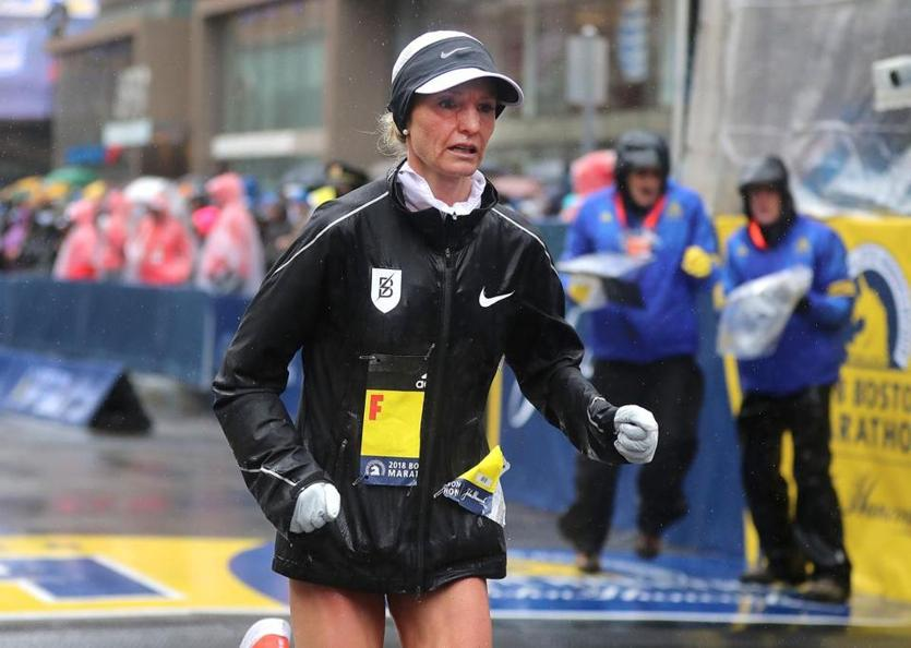 Hasay out of Boston Marathon with heel injury