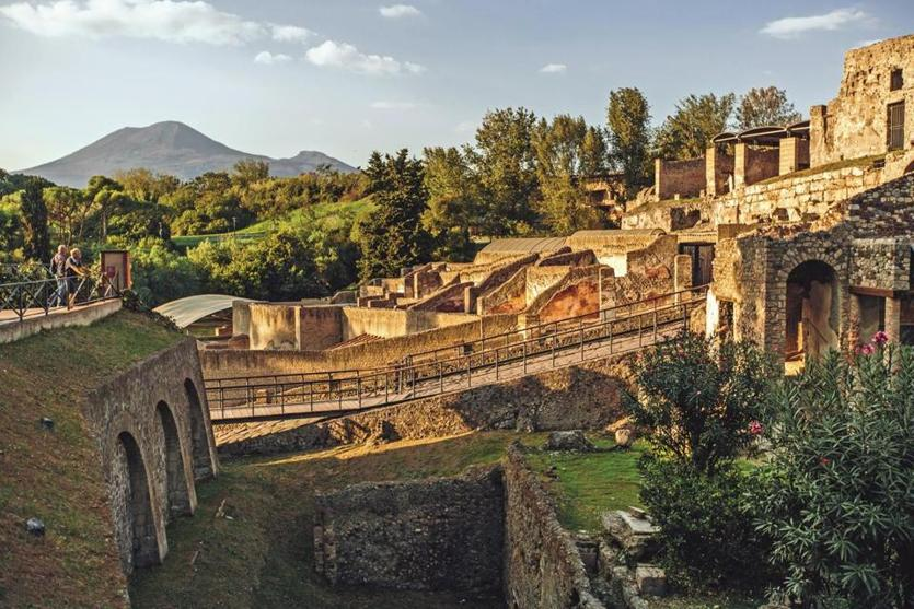 Andante Travels' trip to Italy includes stops at Pompeii and Herculaneum.