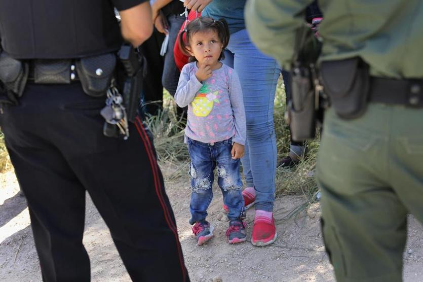 Figures show about 2000 minors separated from families