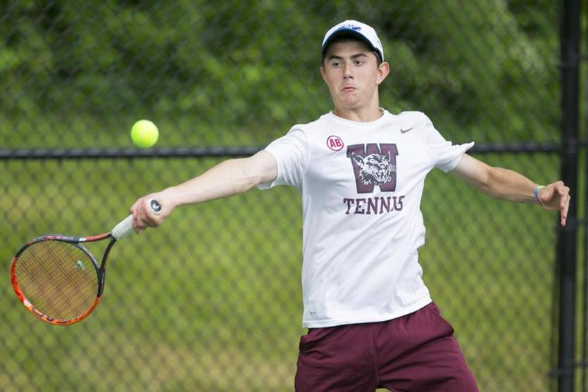 Weston senior Isaac Gorelik helped his team win its second straight Division 3 state tennis championships with a 6-0, 6-2 win in the first singles match.