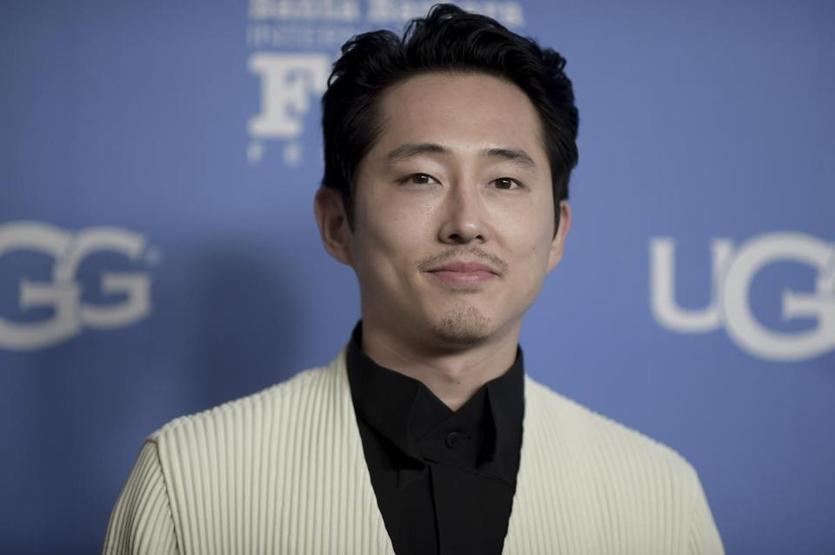 Steven Yeun attends the the 2019 Santa Barbara International Film Festival Virtuosos Tribute on Tuesday, Feb. 5, 2019, in Santa Barbara, Calif. (Photo by Richard Shotwell/Invision/AP)