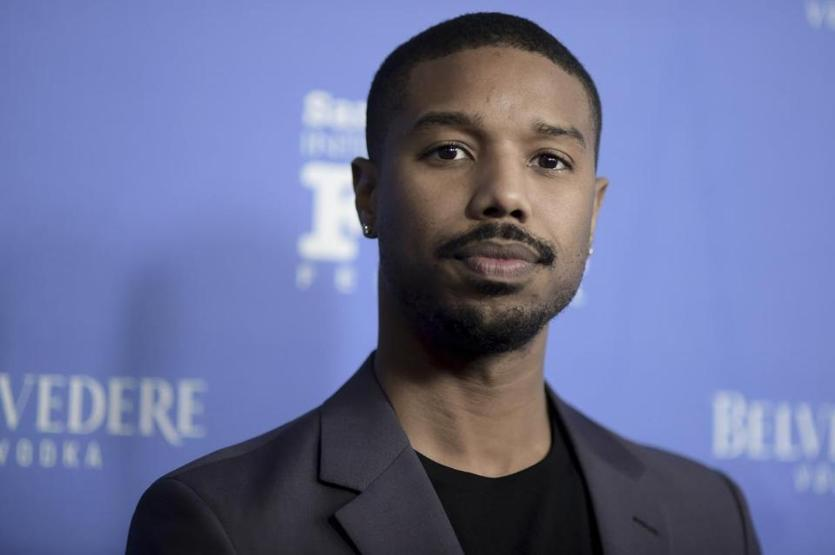 Michael B. Jordan attends the 2019 Santa Barbara International Film Festival Cinema Vanguard Award on Thursday, Feb. 7, 2019, in Santa Barbara, Calif. (Photo by Richard Shotwell/Invision/AP)