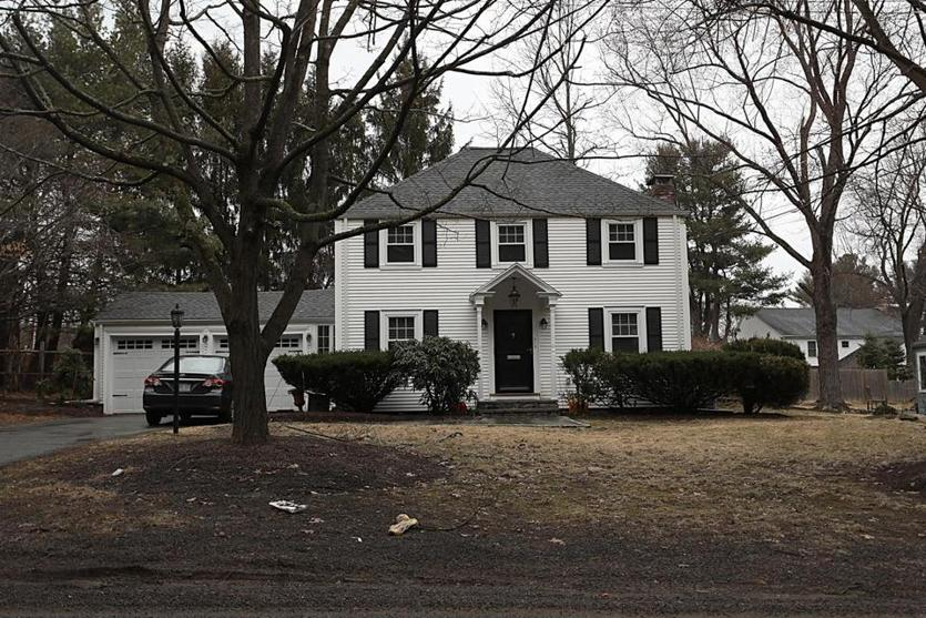 Needham, MA., 03/20/2019, The house at 212 Forest Street for story on college admissions scandal. Globe staff/Suzanne Kreiter