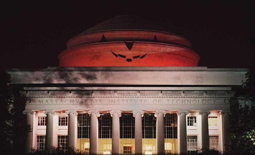 On Halloween 1994, hackers turned the dome into a pumpkin.