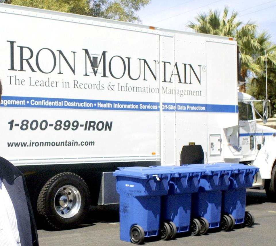 Iron Mountain operates in 36 countries.
