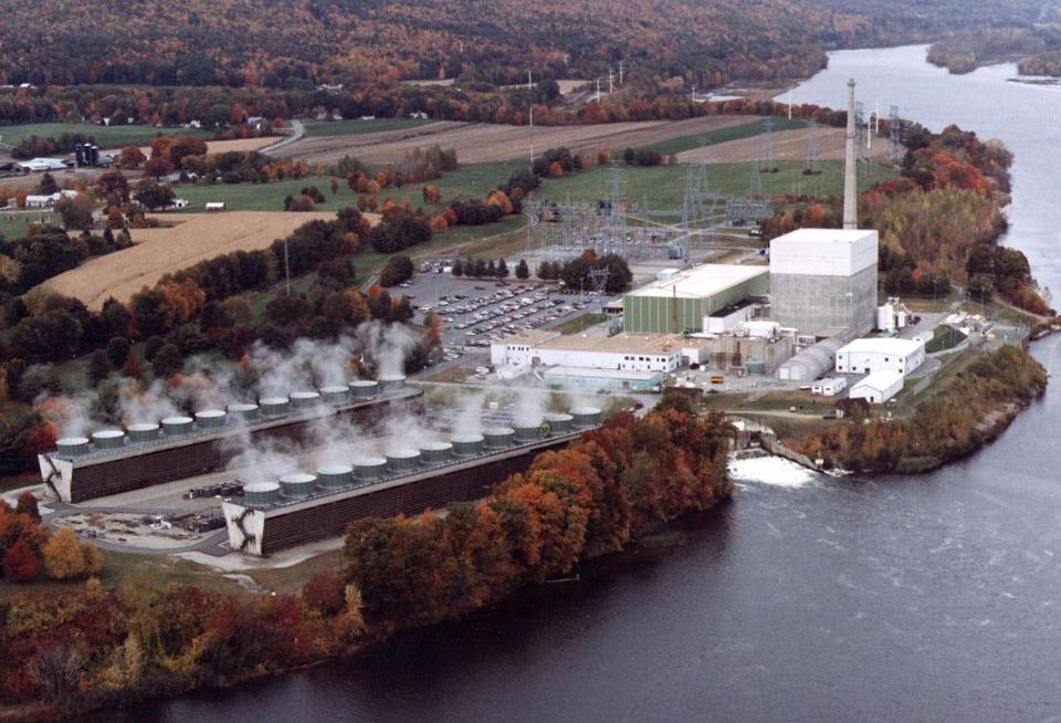 Vermont Yankee's 40-year license expires on March 21. The plant's reactors are similar to those in Japan that were severely damaged during the earthquake and tsunami. (Vermont Yankee Corporation/Associated Press/File)