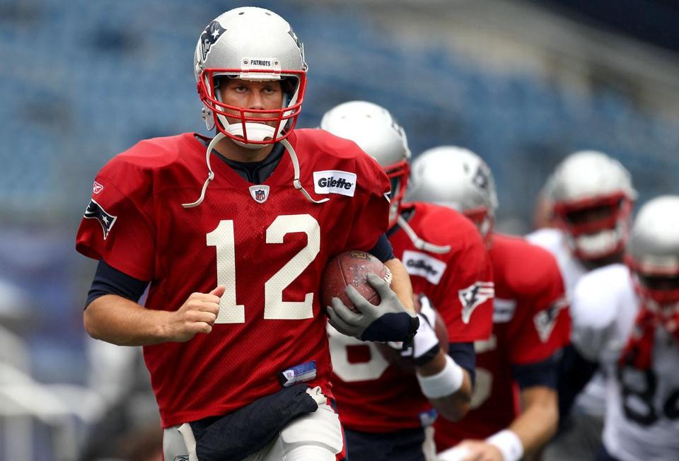 The Patriots made a few changes to the top-rated offense in 2010, and Patriots quarterback Tom Brady believes it might take time for everything to fall in line.