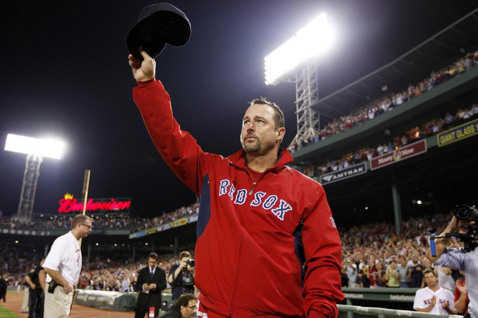 Tim Wakefield got his 200th career win in his eighth try, but more importantly, he stopped the Red Sox' five-game skid.
