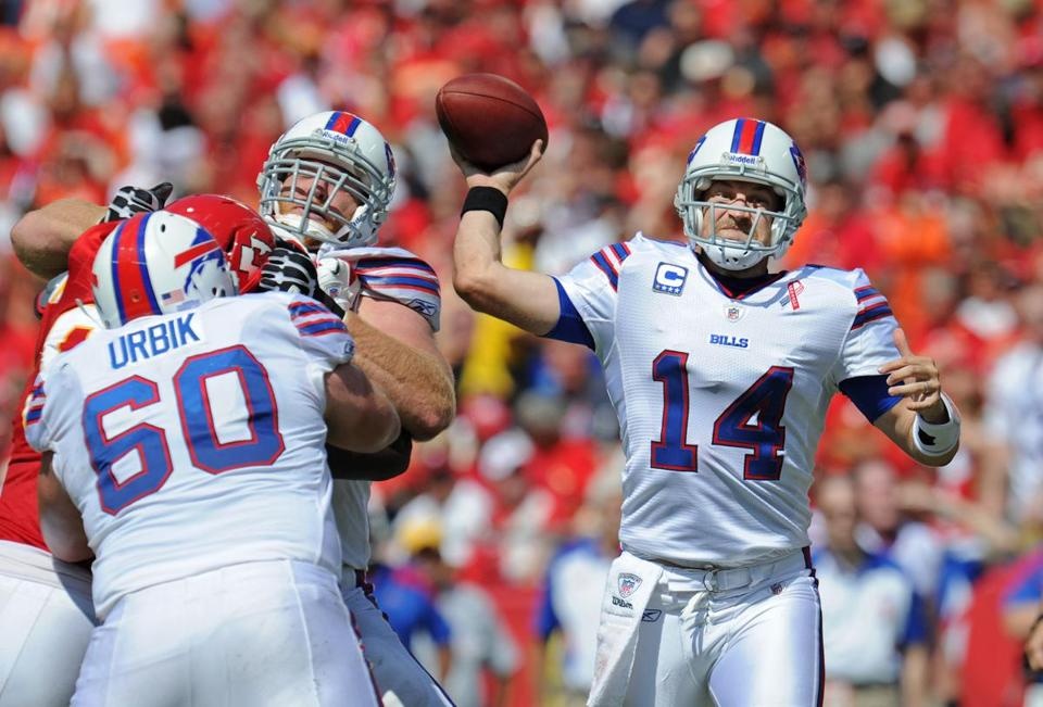 Former seventh-round draft pick Ryan Fitzpatrick has led the Bills to six wins in his last nine starts, including two straight to open this season.