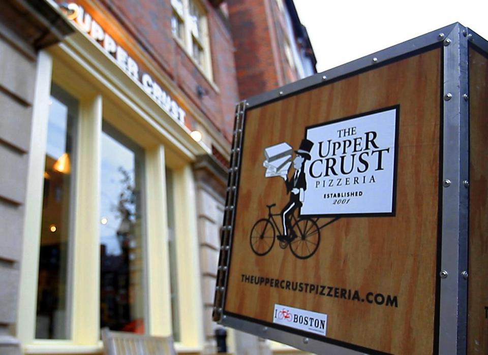 The Beacon Hill location of The Upper Crust Pizzeria.