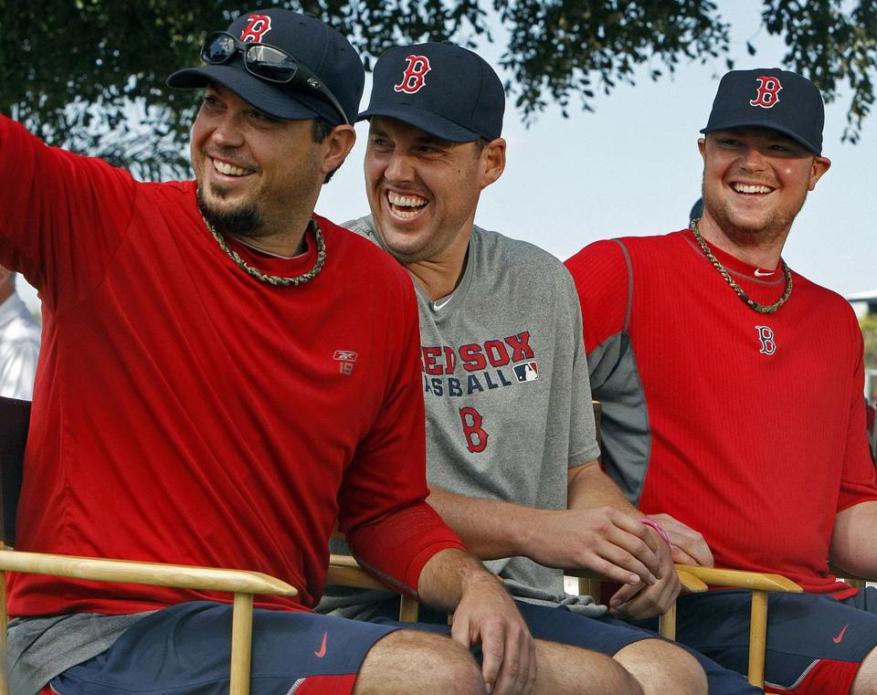 With their clubhouse hbehavior, pitchers Josh Beckett, John Lackey, and John Lester violated unwritten rules about supporting teammates in the dugout