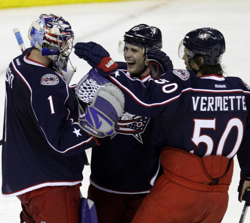 The Columbus Blue Jackets are in the middle of another makeover.