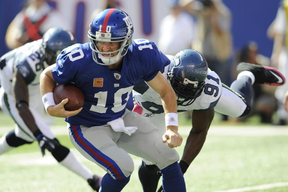 If not for the fourth-quarter brilliance of the durable Eli Manning - an NFL-best 119.3 quarterback rating in the period - the Giants wouldn't have a two-game lead in the NFC East.