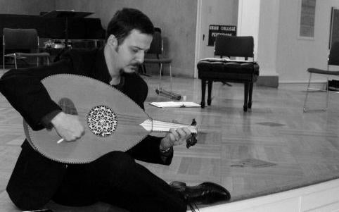 Mehmet Ali Sanlikol is one of the musicians performing at the Playing for the Planet concert.