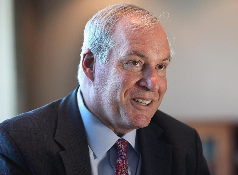 Federal Reserve Bank of Boston chief Eric Rosengren.