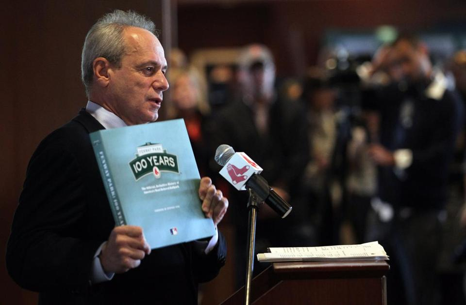 "While the team's president/CEO may not have officially signed a new deal, Larry Lucchino said, ""I've reached an understanding on it, for the most part. I'll just leave it at that."""