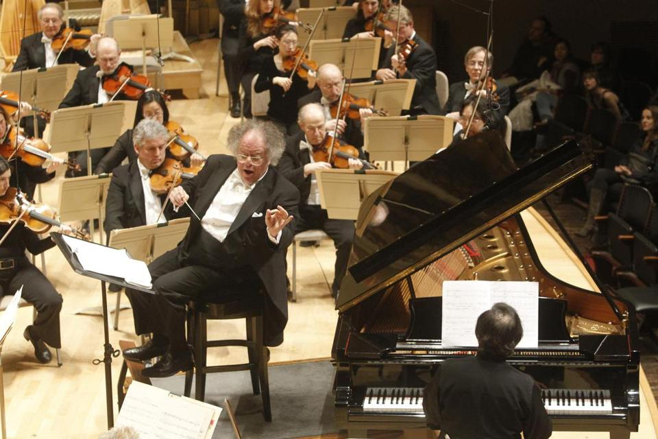 James Levine had been music director for the Boston Symphony Orchestra from 2004 to 2011.