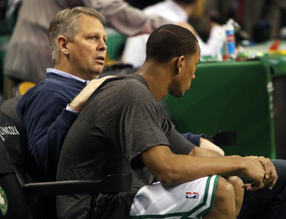 Three weeks into the season, murmurs are growing louder that Celtics president of basketball operations Danny Ainge should blow up the roster and begin preparing for the next era after a 5-8 start.