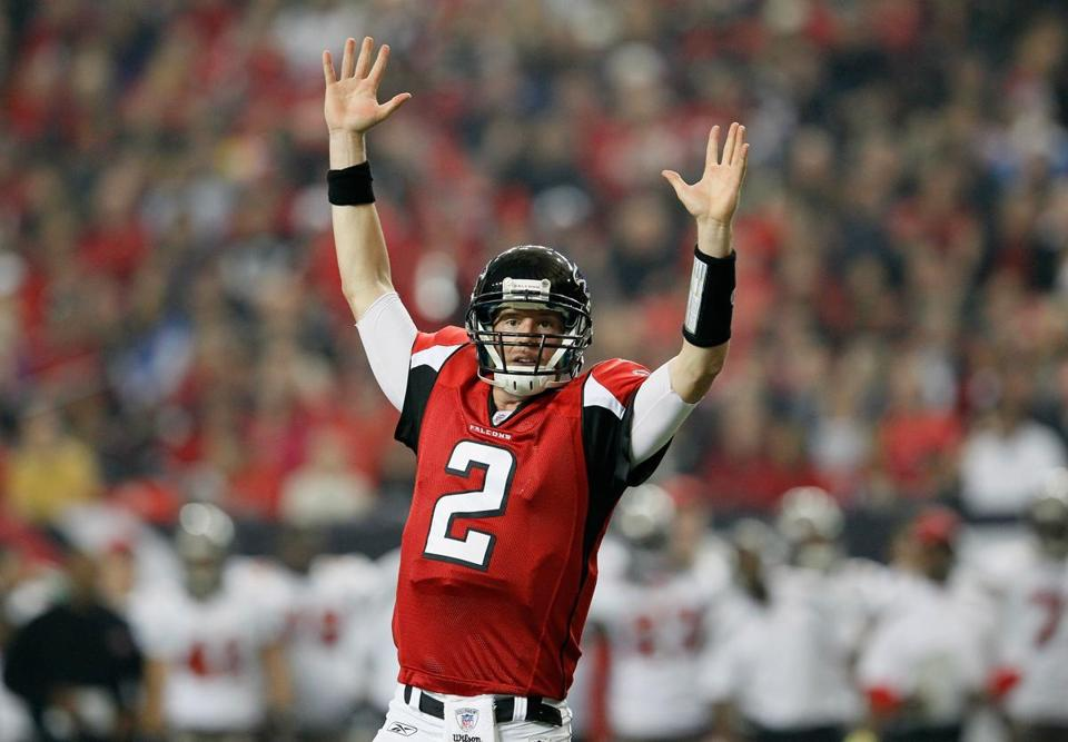 Matt Ryan and the Falcons are looking for a road win against the Giants on Sunday.