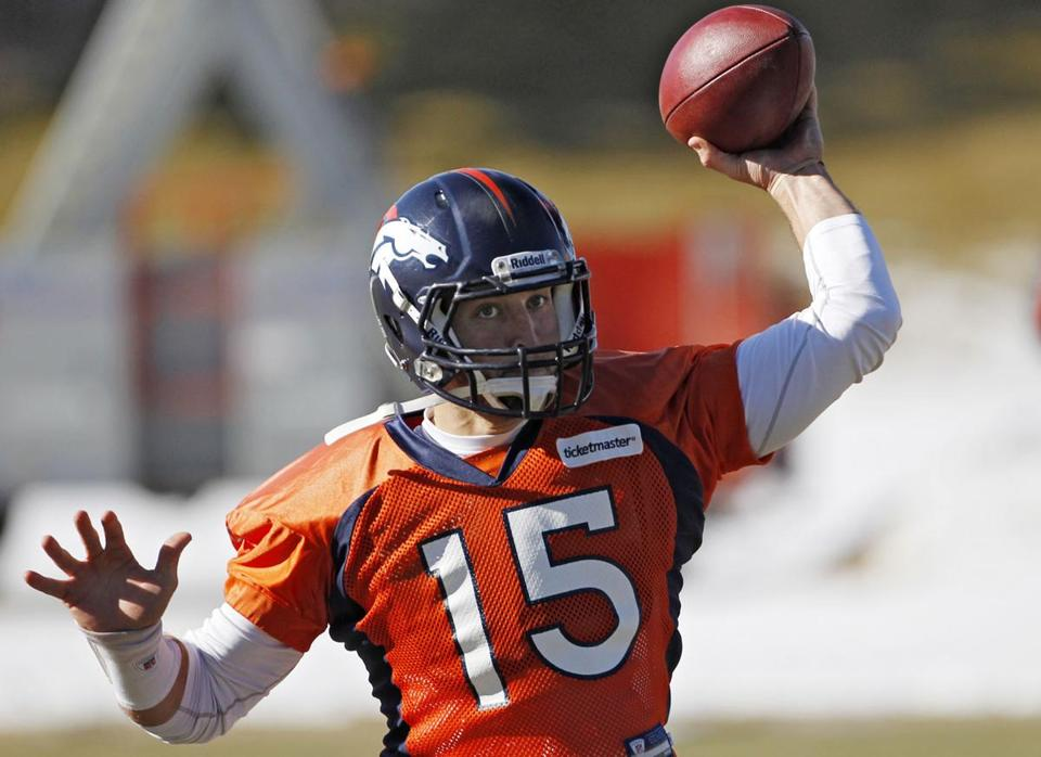 Tim Tebow's throwing motion has been likened to a shot putter's, but the Broncos QB is coming off a 316-yard game.