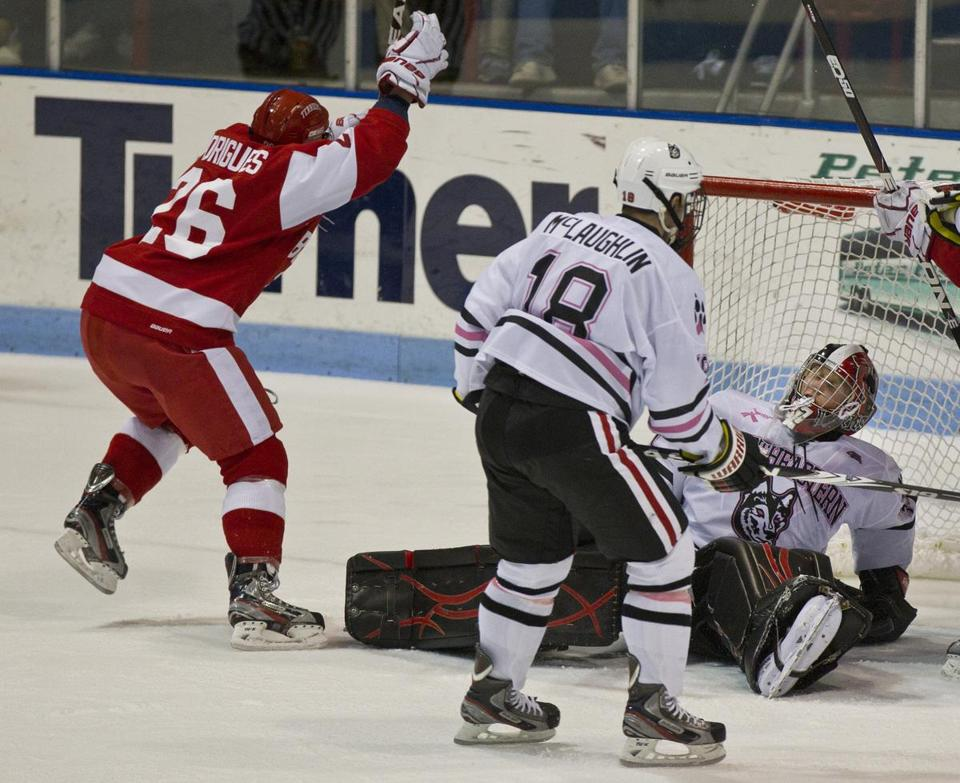 Hockey East: BU Hockey Too Tough For Northeastern