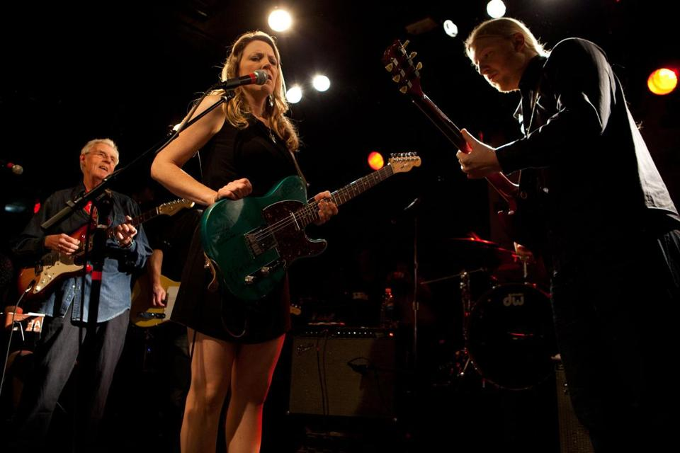 Susan Tedeschi and Derek Trucks at the Paradise on Saturday.