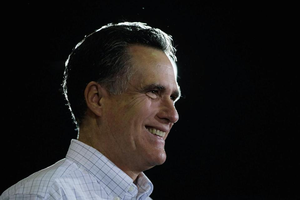 Mitt Romney spoke at a campaign rally today in Florence, S.C.