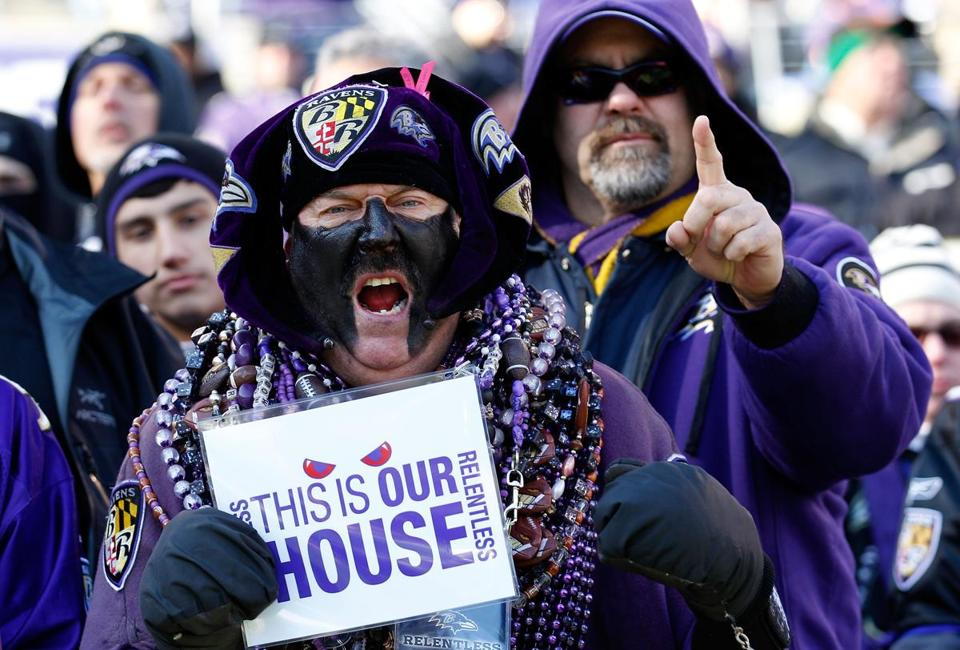 Ravens fans were treated to a home playoff win against the Texans on Sunday.
