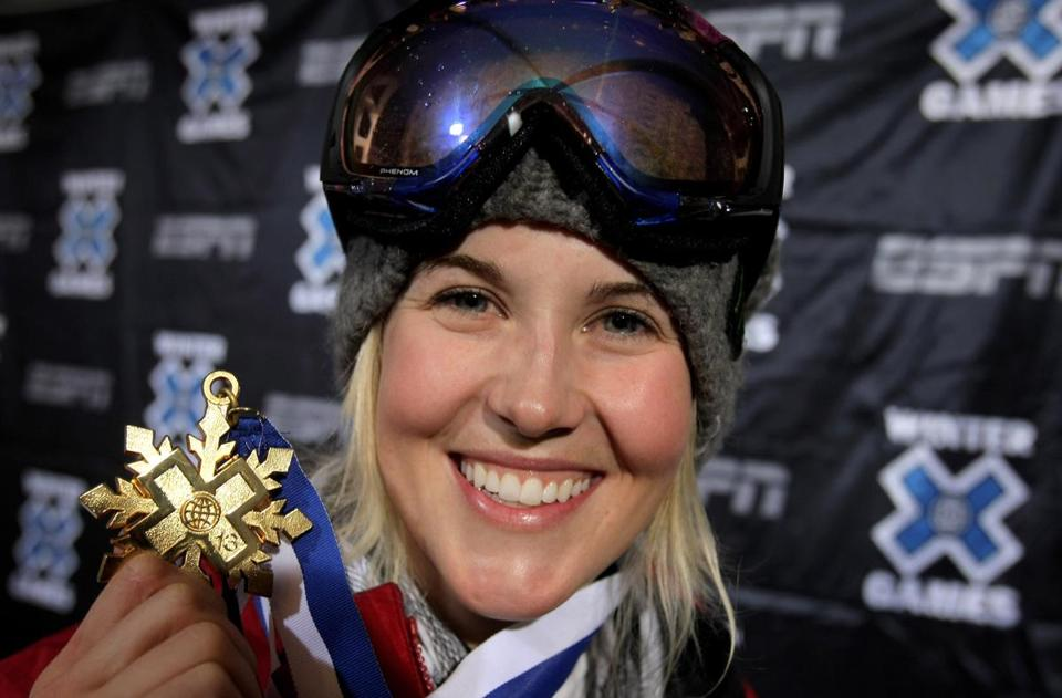 Sarah Burke died at 29 after a crash on Jan. 10.
