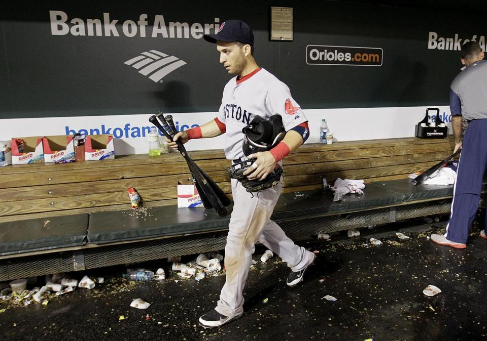 Marco Scutaro, traded to the Rockies, played hard for the Red Sox, and played hurt, too.