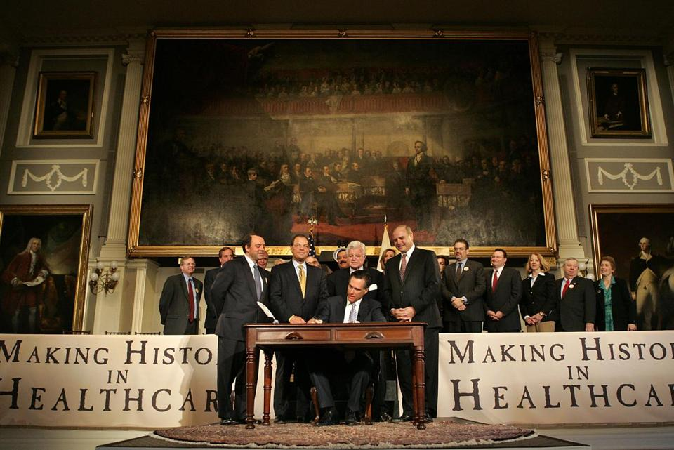 Massachusetts health care law