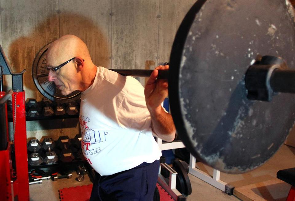 Saul Shocket, 68, credits weight lifting beforehand for a speedier recovery from two recent hip replacements.
