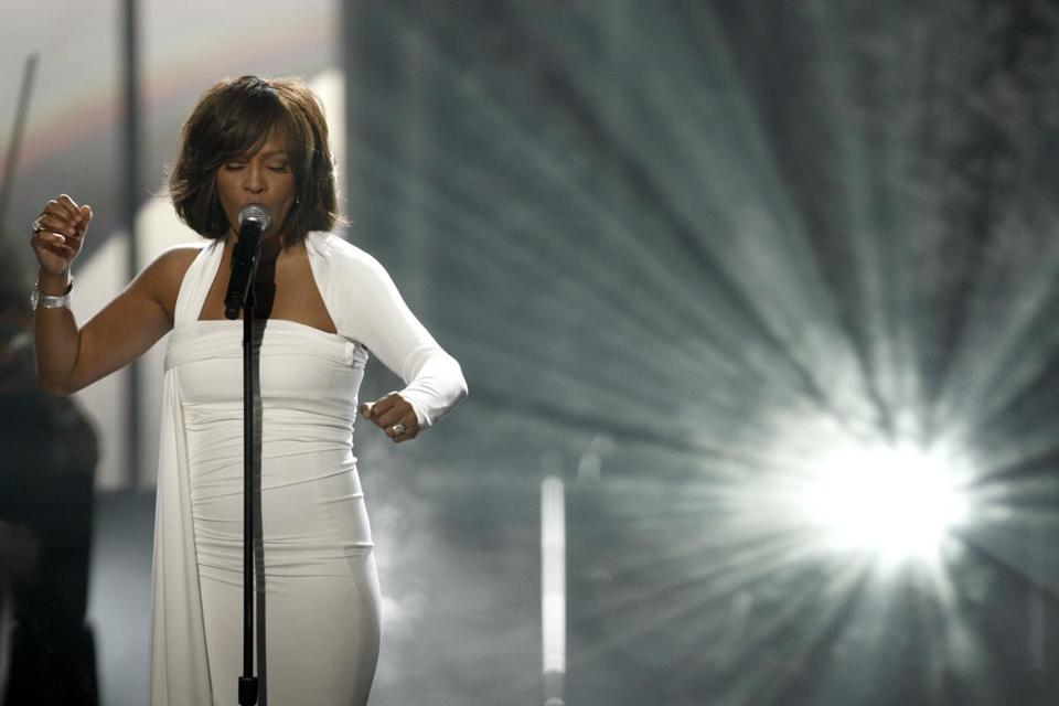 Whitney Houston performed at the 37th Annual American Music Awards in Los Angeles, Calif., on Nov. 22, 2009.