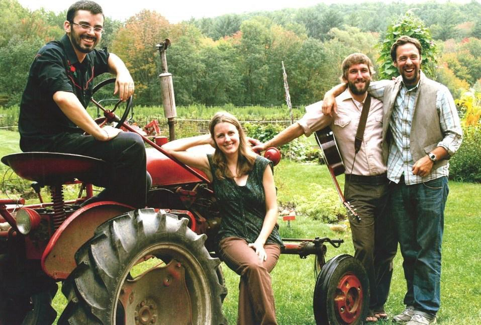 Among the acts at the Joe Val Bluegrass Festival are newcomers Three Tall Pines.