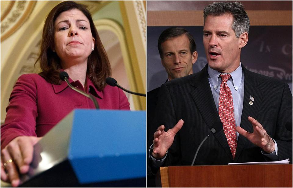 Senators Scott Brown of Massachusetts and Kelly Ayotte of New Hampshire are backing a bill that would allow employers and insurers to place limits on what they cover, including birth control, on moral or religious grounds.