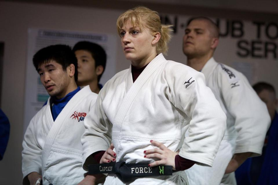 World champ Kayla Harrison overcame the pain of being sexually abused by a coach.