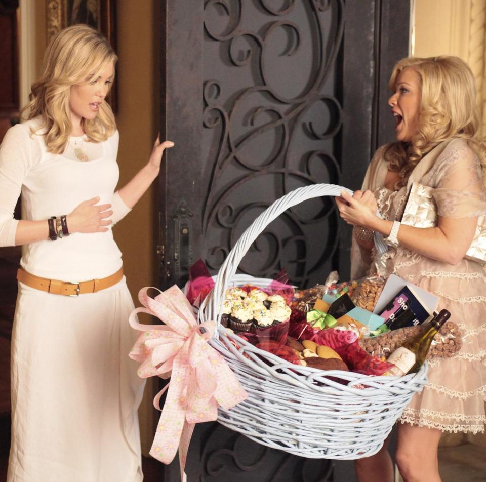 "Leslie Bibb and Jennifer Aspen are part of an ensemble cast in the new ABC dramedy ""GCB.''"