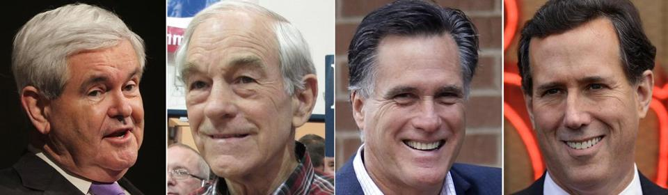 GOP candidates Newt Gingrich, Ron Paul, Mitt Romney, and Rick Santorum did not campaign in Massachusetts for Super Tuesday.