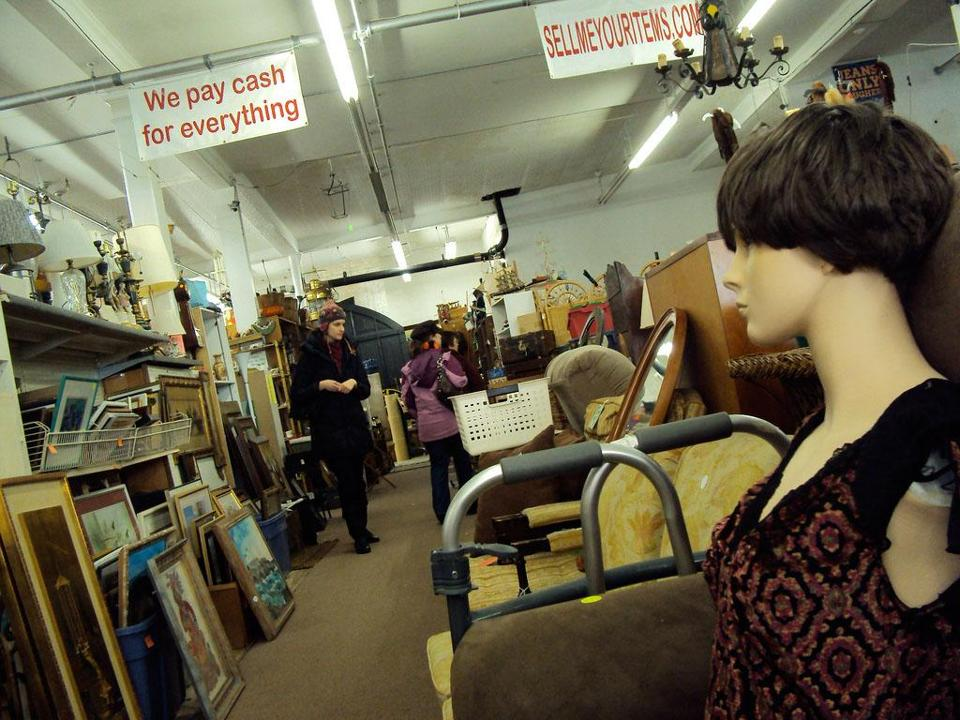 Witch City Consignment and Thrift on Essex Street is an eclectic, indoor yard sale with off-beat items children can find fascinating.