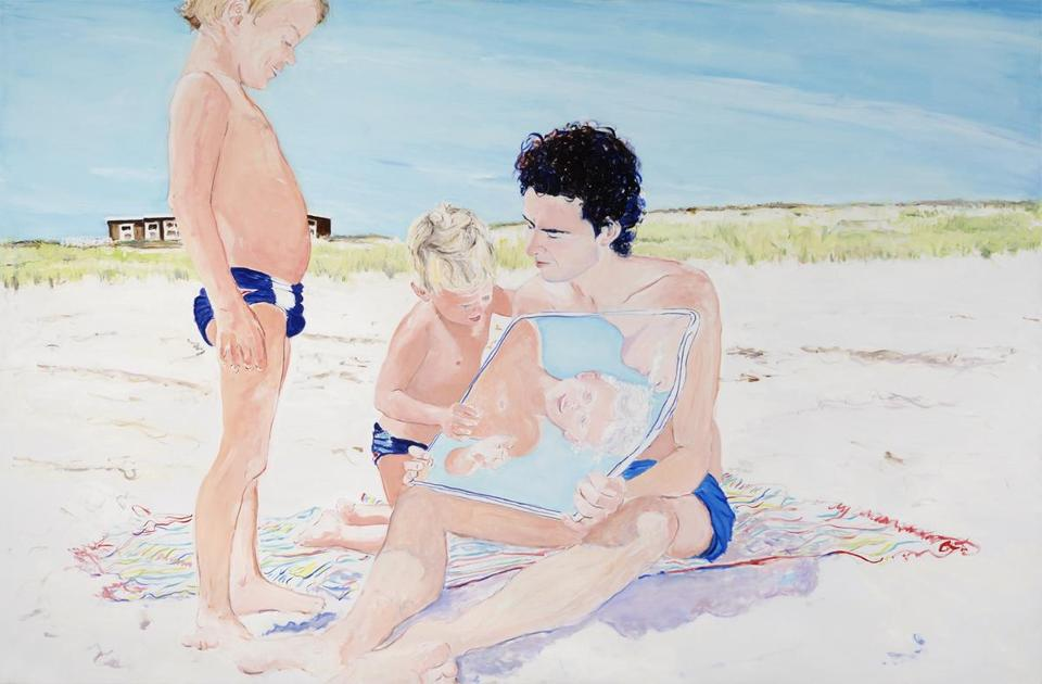 Billy Sullivan (b. 1946); Max, Sam & Edo, 2011; oil on linen; 72 x 102 in. (182.9 x 259.1 cm); Pending Acquisition, Parrish Art Museum, Southampton, New York. Museum Purchase with funds given by Michle and Steven Pesner, and partial gift of the artist 10open