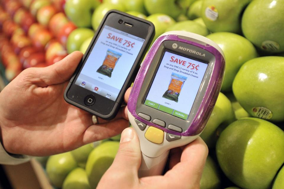 A Modiv phone app and a hand-held scanner.